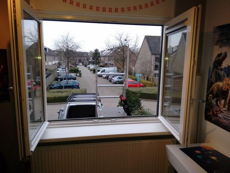 Plastic frame, window or door, customized quality. Imaat Old …
