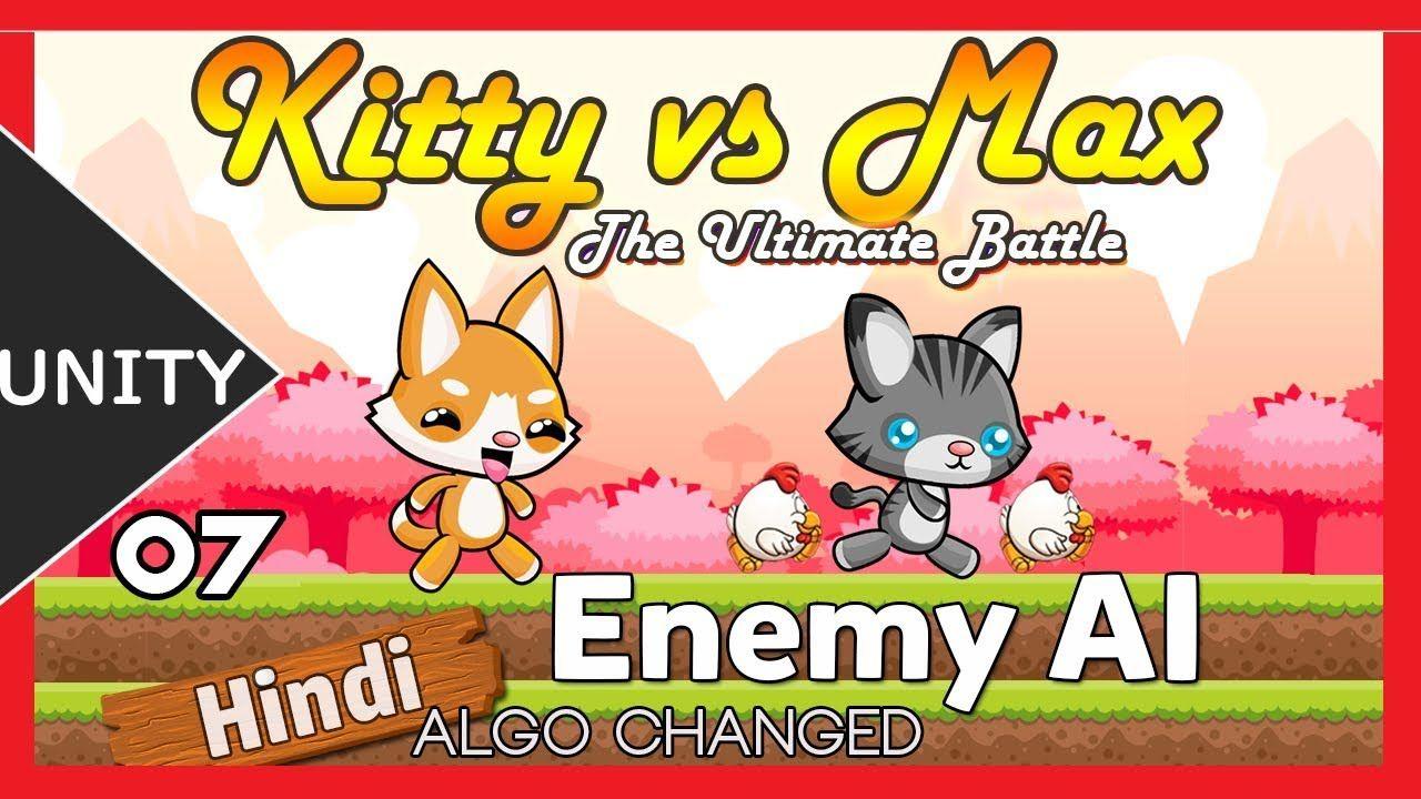 Unity 2D Enemy AI Platformer Tutorial (Hindi/Urdu) [07