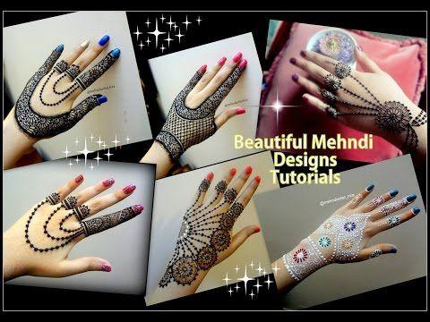 Mehndi For Diwali : Diwali special mehndi designs ii beautiful jewellery style henna