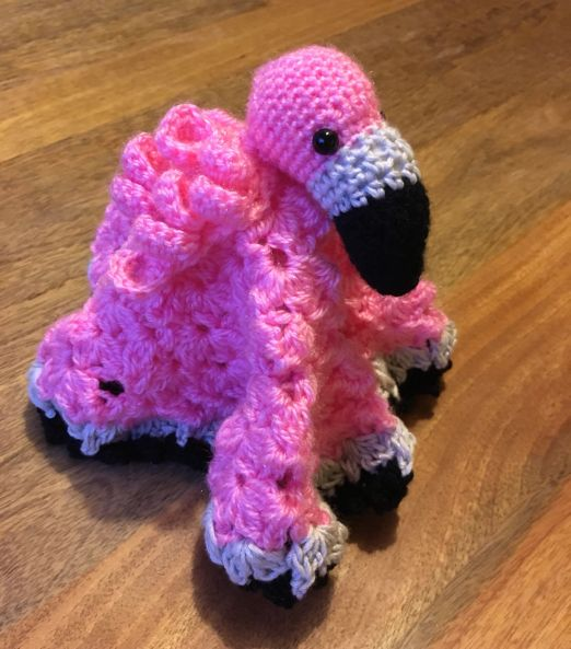 Flamingo Security Blanket