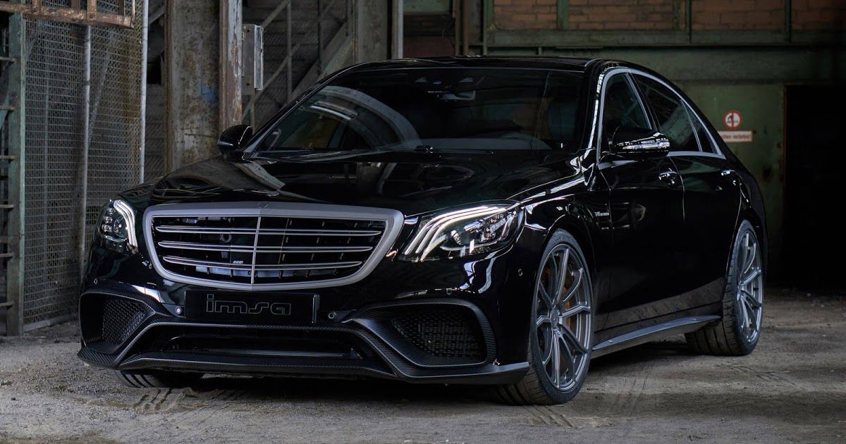 Imsa Gives 2018 Mercedes Amg S63 720ps To Play With Carscoops Mercedes Amg Benz S Mercedes Car
