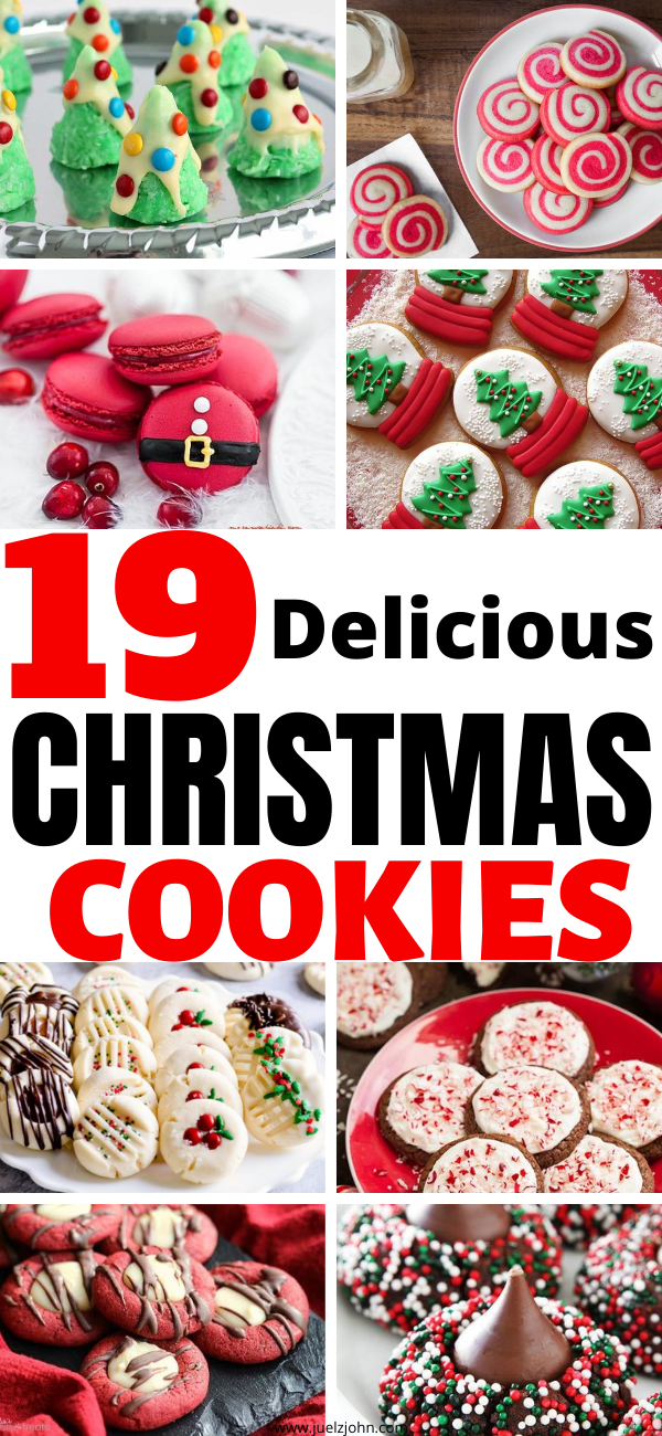 19 Delicious Christmas cookies for the holidays -   19 best holiday Cookies ideas