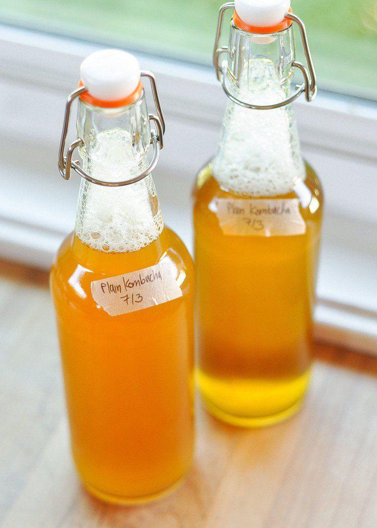 Kombucha selber machen getränk tee selber machen anleitung | Rezepte ...