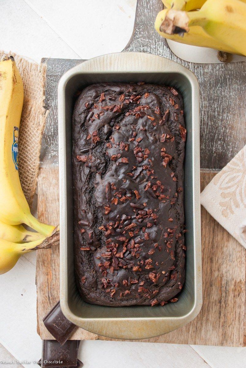 Healthy dark chocolate banana bread recipe chocolate banana healthy dark chocolate banana bread recipe chocolate banana bread banana bread and super easy forumfinder Images