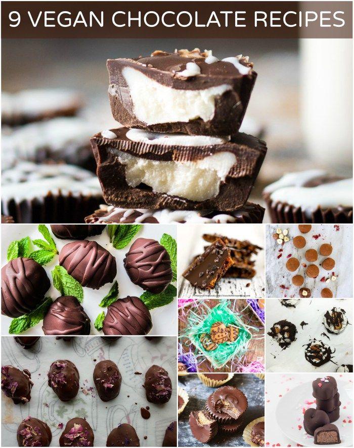 9 Vegan Chocolate Recipes...