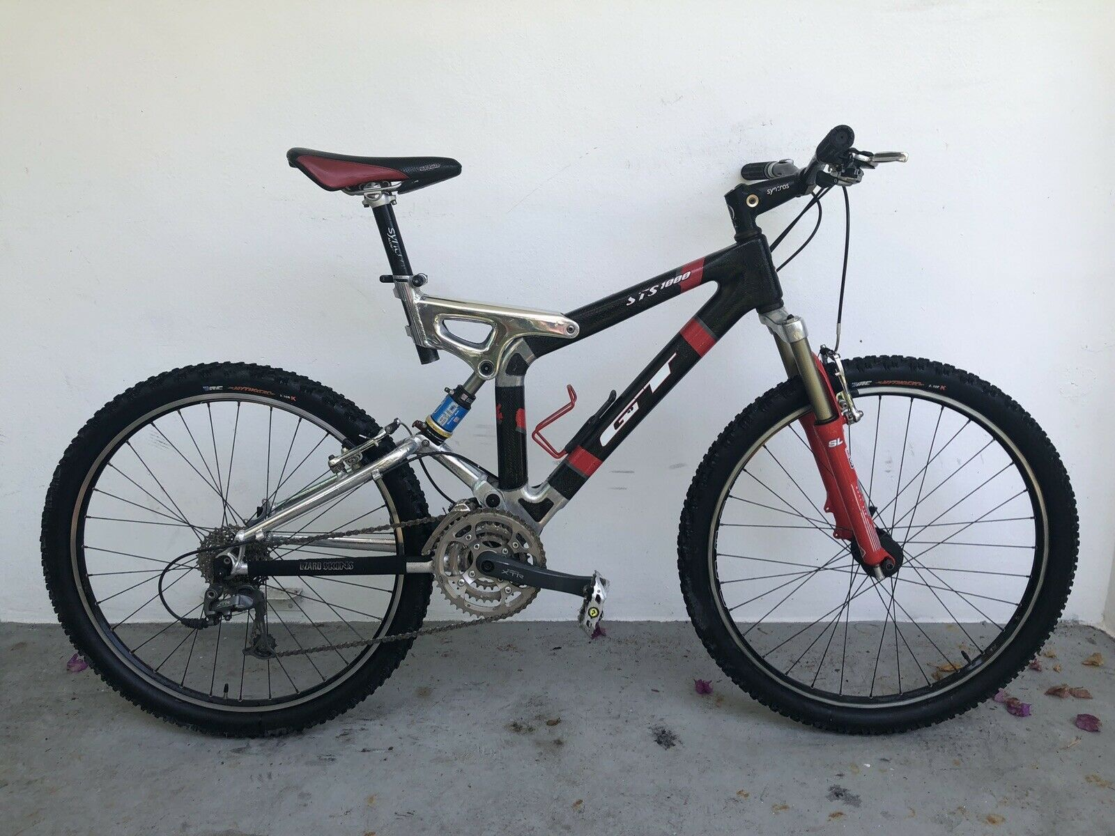 Gt Sts 1000 Full Suspension Thermoplastic Carbon Mountain Bike Gts