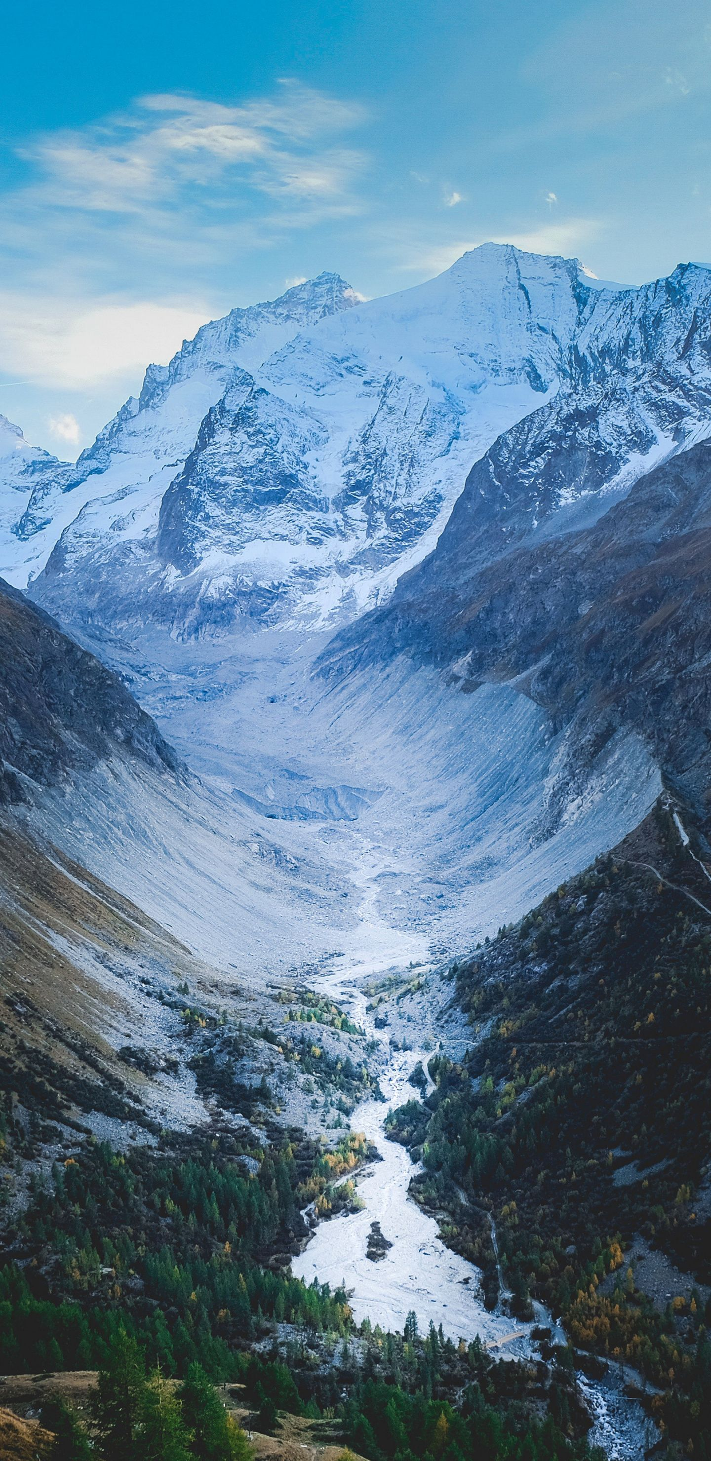 River Nature Swis Mountains Valley 1440x2960 Wallpaper Landscape Wallpaper Nature Nature Pictures