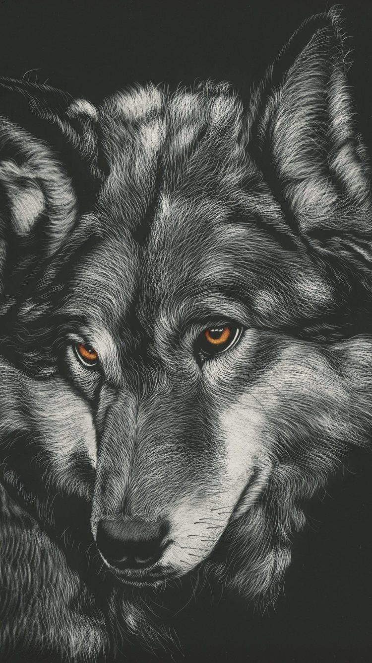 750x1334 750x1334 Wolf Painting 4k Iphone 6 Iphone 6s Iphone 7 Hd 4k Wolf Painting Wolf Wallpaper Wolf Artwork