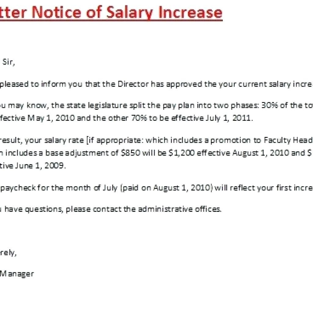 How To Write A Salary Increase Proposal Template Proposal