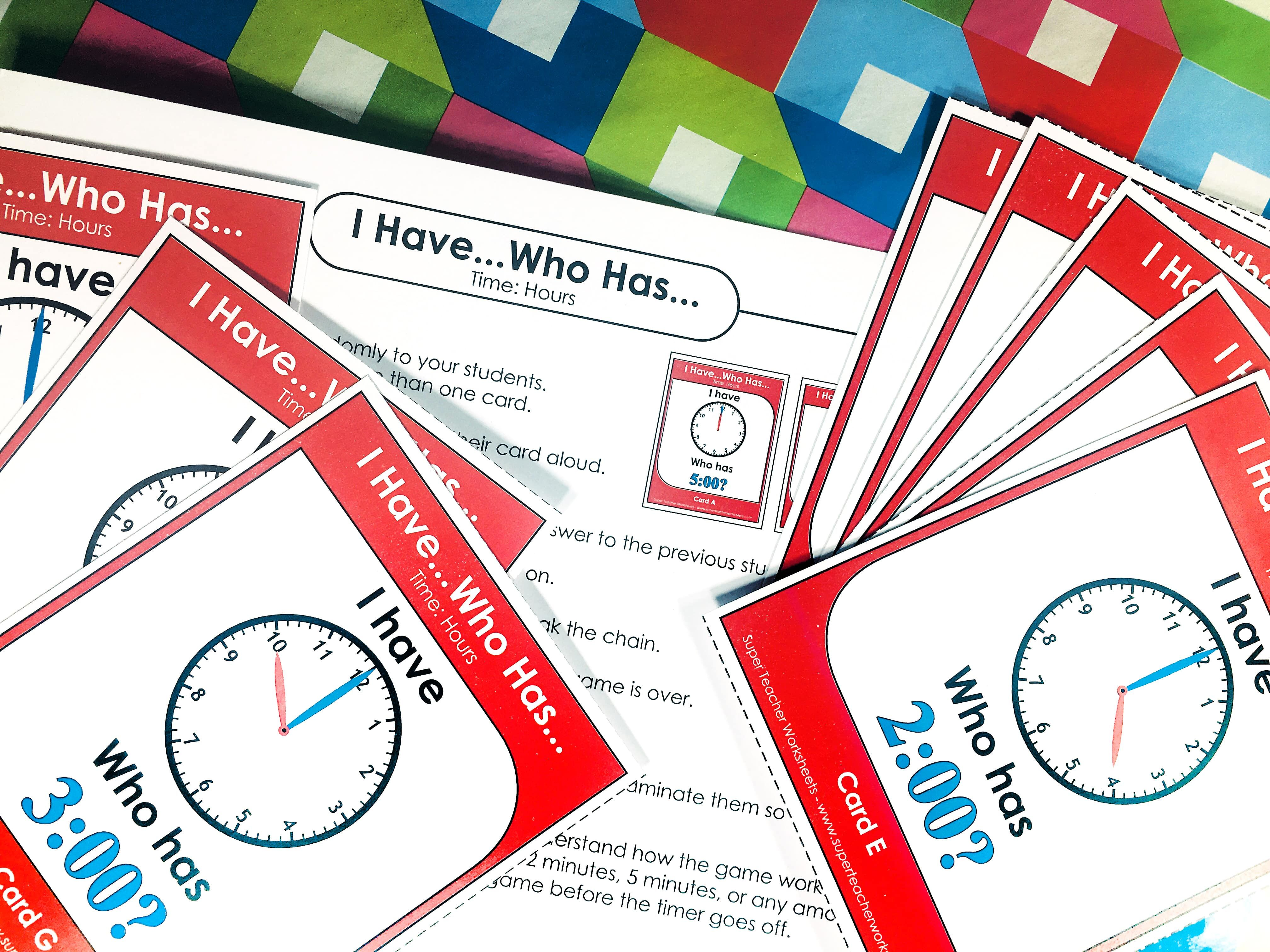 Try Out I Have Who Has Card Games From Super Teacher Worksheets It S A Fun Card Game For Your Whole Cl Super Teacher Worksheets Fun Card Games Card Games [ 3024 x 4032 Pixel ]