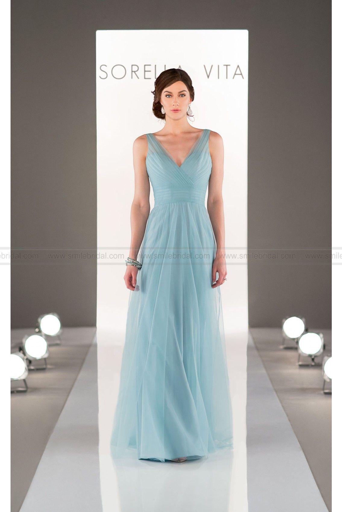 Sorella vita tulle bridesmaid dress style bridesmaid dress