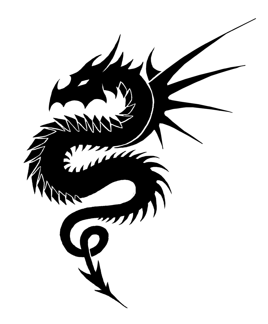 Deviantart More Like Tribal Dragon By Clipart Best Dragon Images White Dragon Asian Dragon