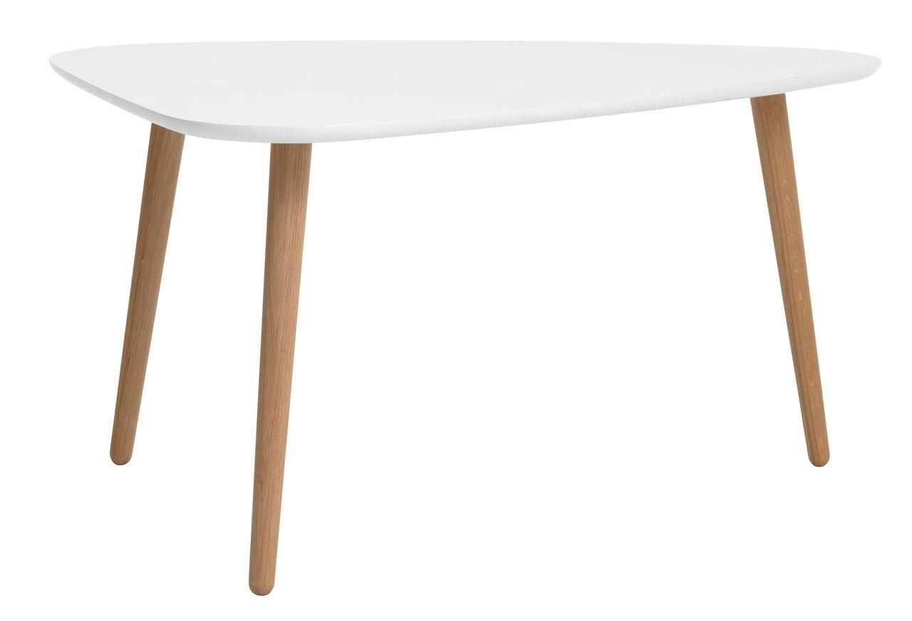 Soffbord ABED 75x95cm ek vit JYSK Soffbord Soffbord, Vardagsrum och Hus