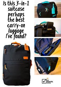 Is this travel backpack perhaps the best carry on luggage ...