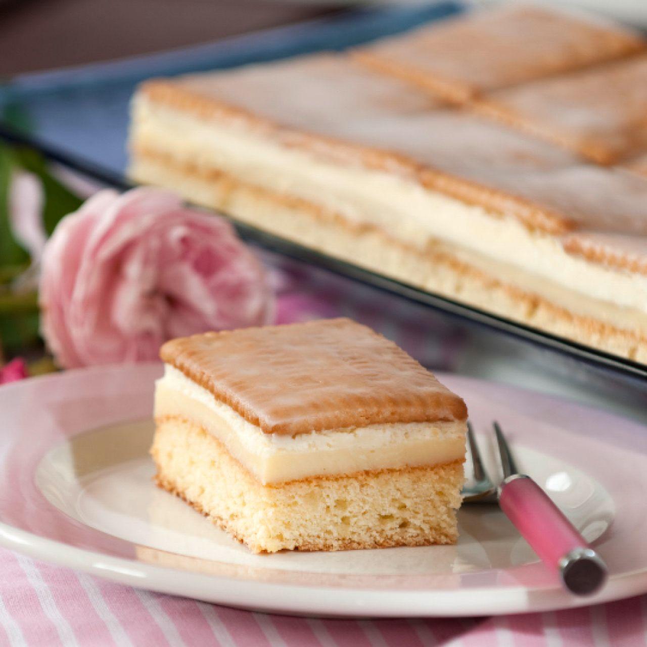 Sanella Geburtstagskuchen: Zitronen-Butterkeks-Kuchen