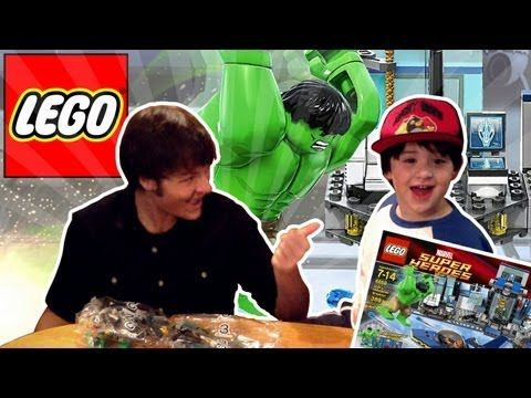 video review - LEGO Hulk's Helicarrier Breakout - (Set 6868) REVIEW ft. Dano!