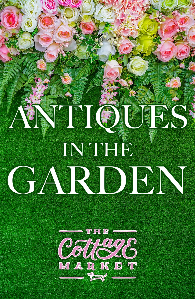 Antiques In The Garden...fabulous Suggestions On How To Use Antiques In The