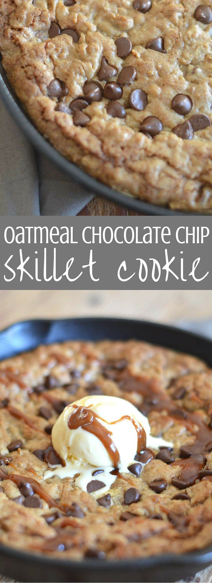 Small Batch Chocolate Chip Skillet Cookie | Recipe | Skillets ...