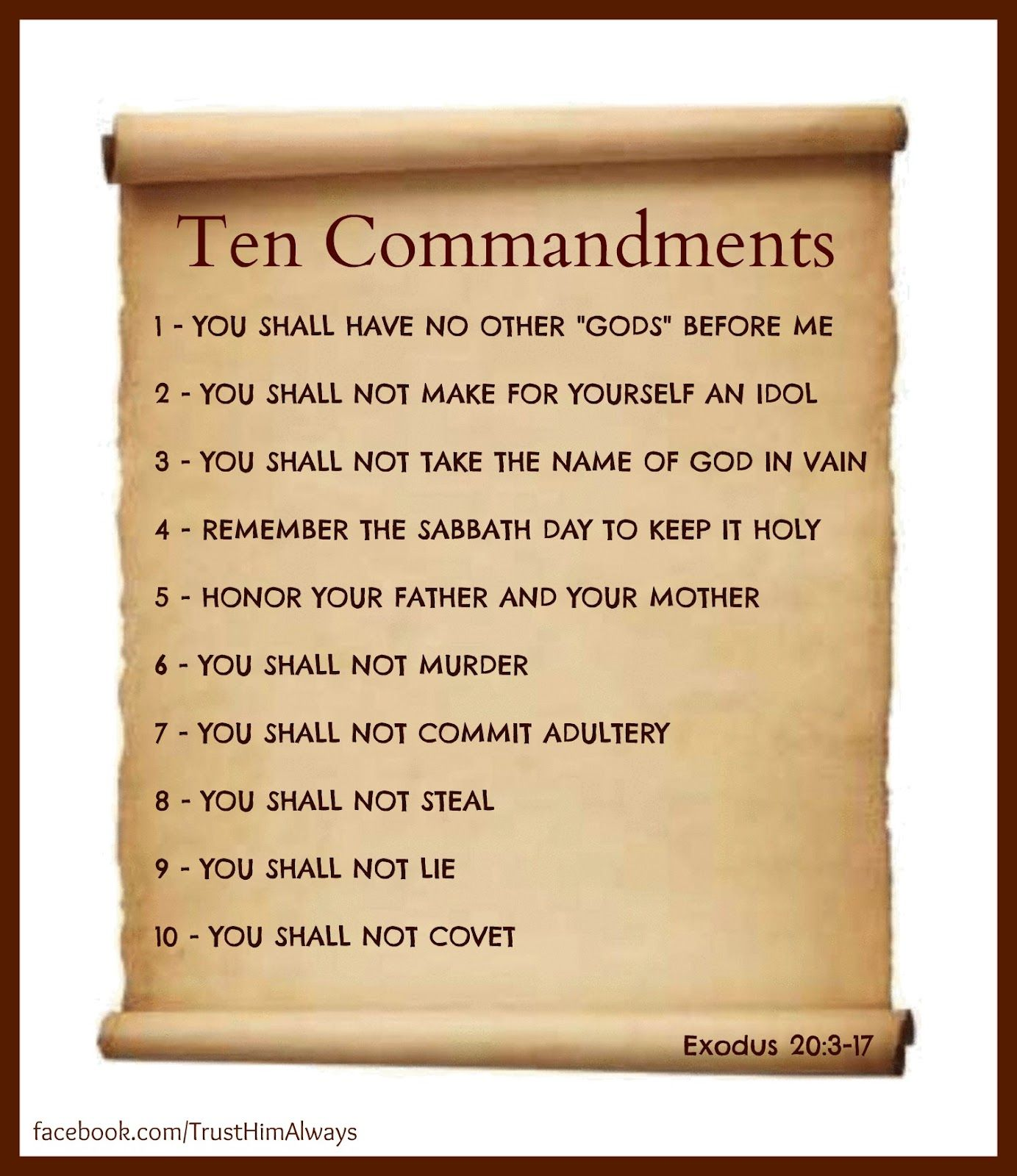 Ten Commandments Not Suggestions With Images