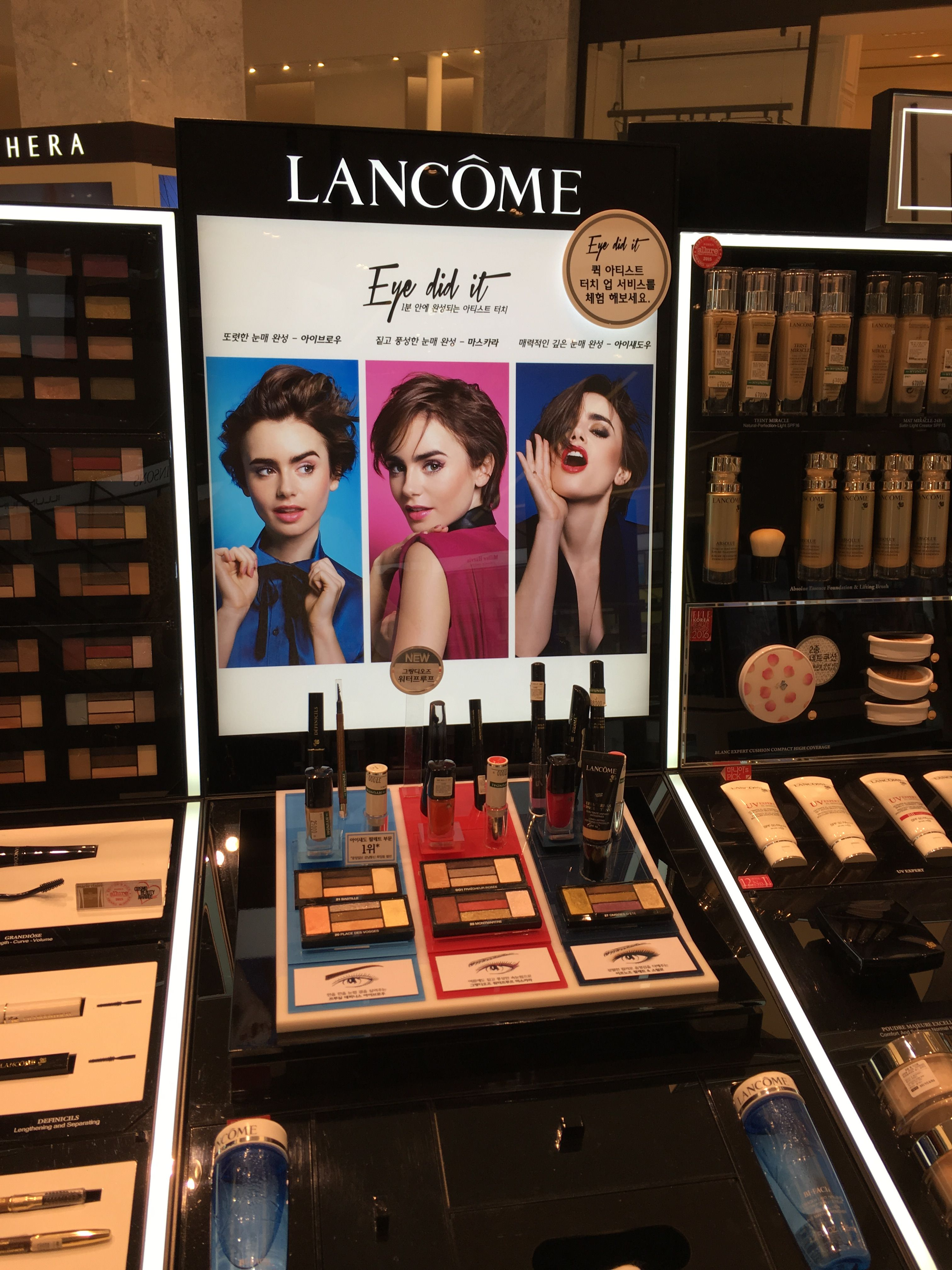 Pin by Keki Hayes on make up store Cosmetic display