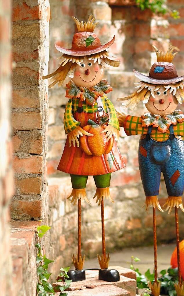 Herbstdeko Shop herbst deko vogelscheuche lotte 100 cm wohnambiente shop