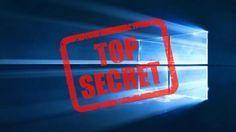 Windows 10 comment débloquer les paramètres secrets