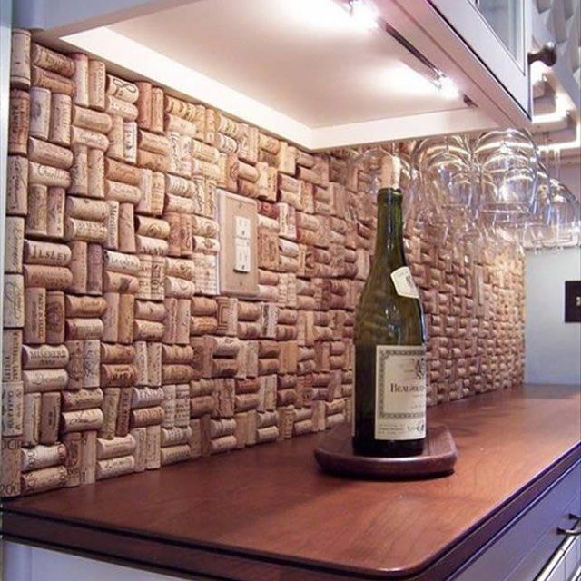 Things To Do With Wine Corks Bar Areas