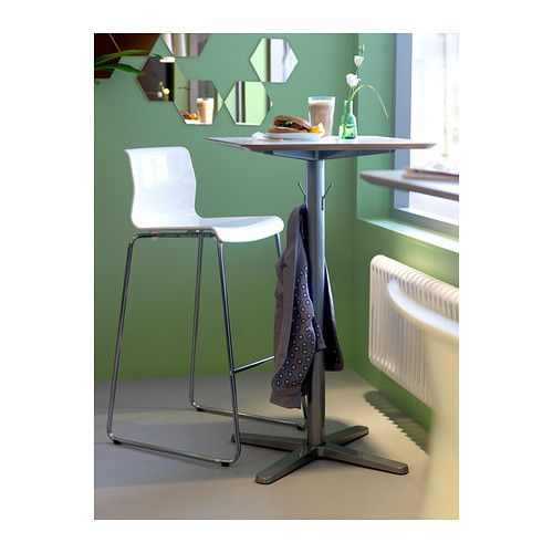 BILLSTA Bar table IKEA Table top covered with melamine, a heat- and ...