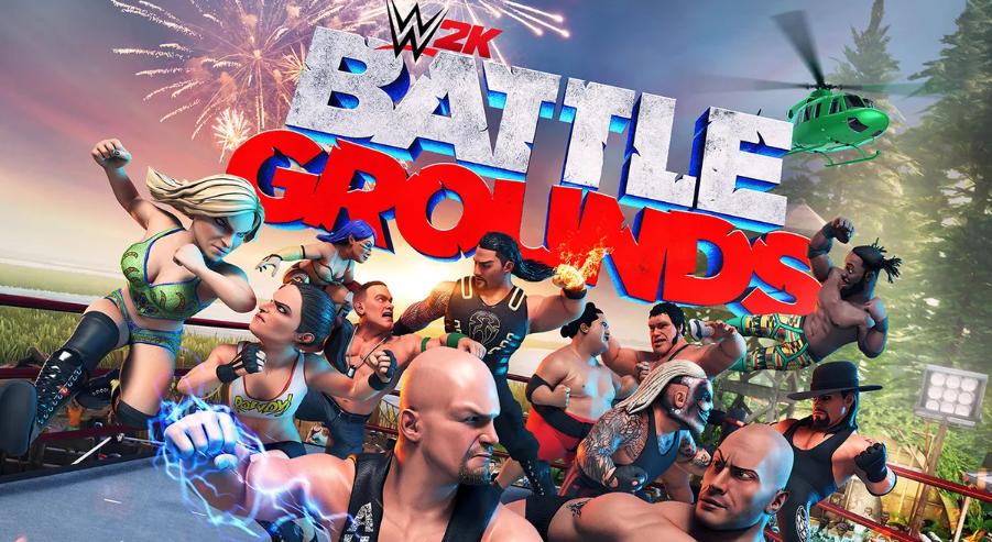 World War Z Developer Working On A Wwe Title Called Wwe 2k Battlegrounds Wwe 2k Wwe Wrestling Videos