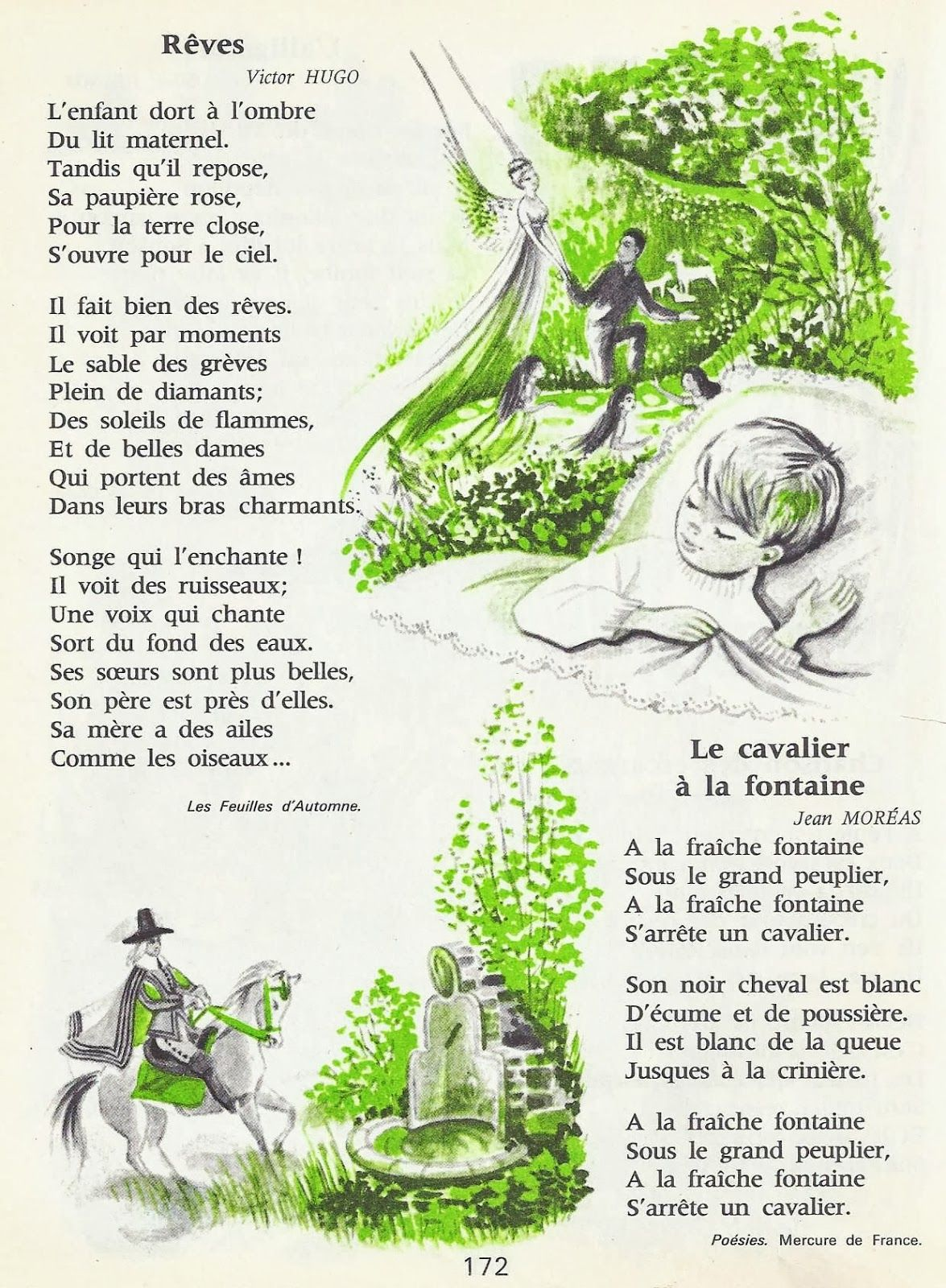 Je Lis Et J Apprends De Beaux Poemes Ce2 Beaux Poemes Ce2 Poeme Francais