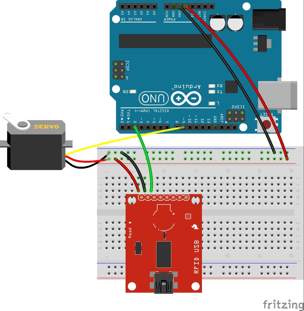 Circuit Project Spark - Wiring Diagram •