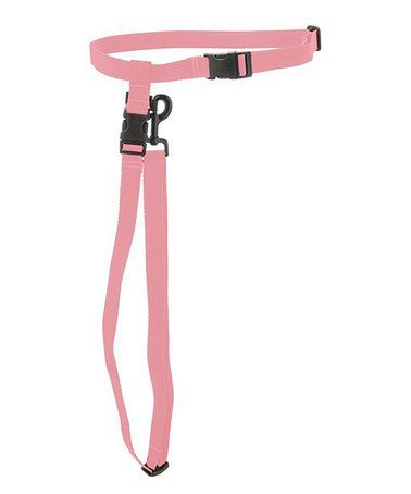 Take a look at this Pink Hands-Free Leash by Max & Zoey on #zulily today!