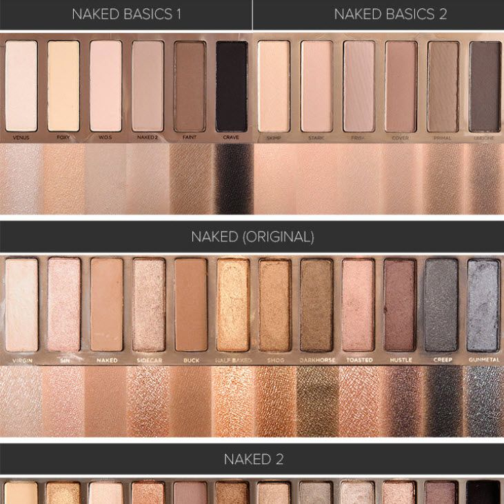 Naked2 Eyeshadow Palette by Urban Decay #15