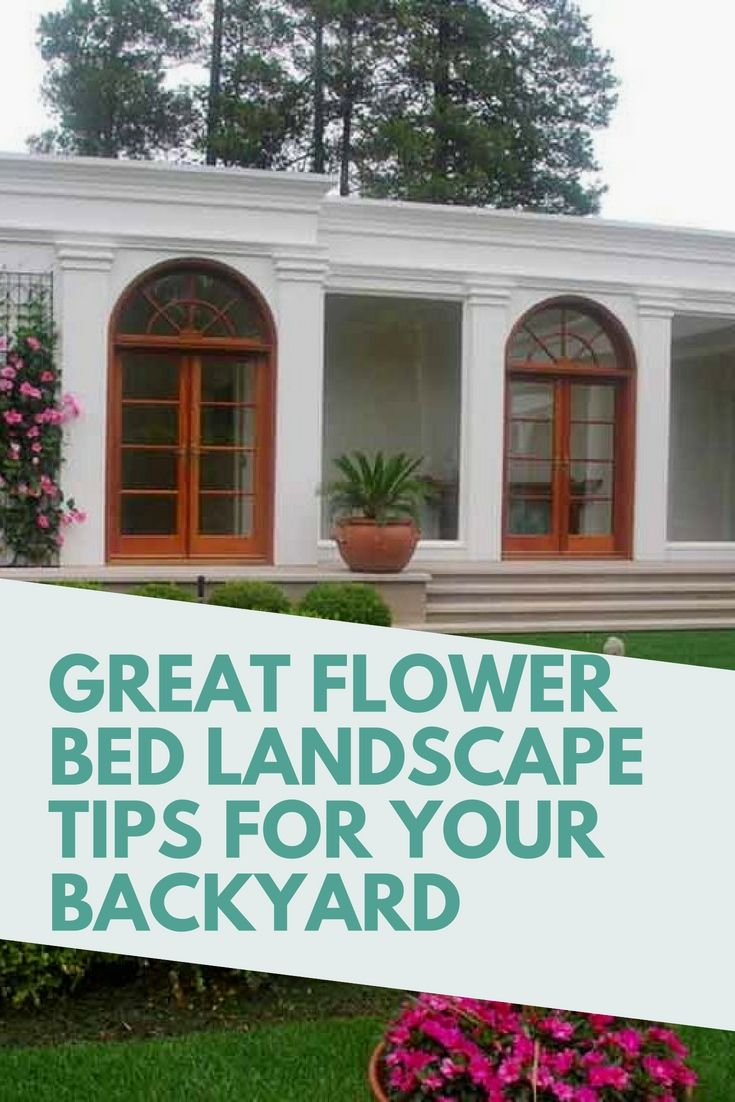new home worthy flower bed landscape hacks for the perfect touch ideas beds flowers garden design also rh pinterest