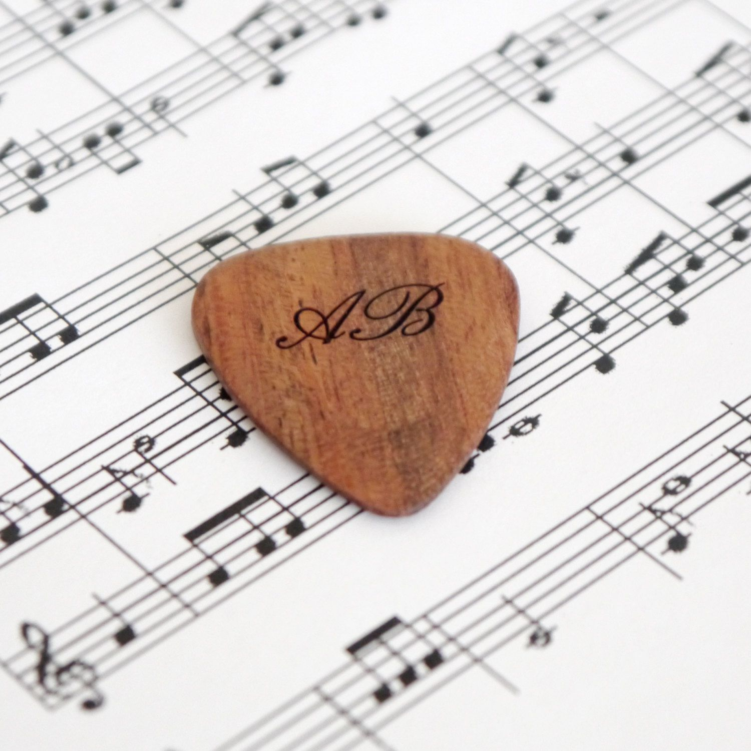 Personalised Calligraphy Guitar Plectrum, Guitar Pick, Music Lover ...