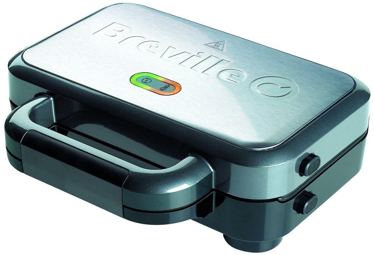 Sandwichera Breville Vst 041 X Potencia 850w Capacidad Para 2 Sandwiches Estructura Metalica Platos Sandwiches Y Tiendas