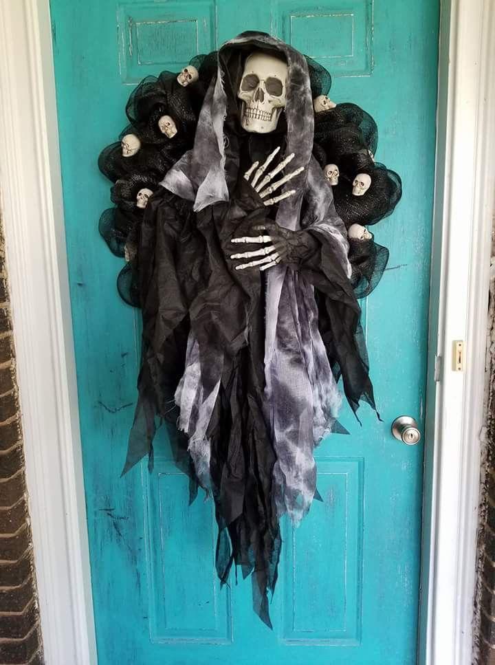 Halloween decor idea Halloween Decorating Ideas Pinterest