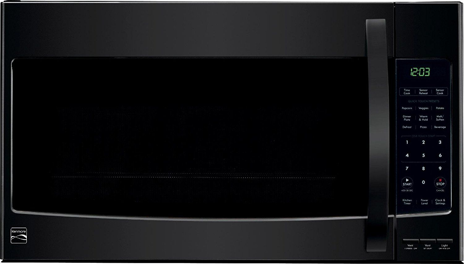 Kenmore Over The Range Microwave Hood Combination Oven 2 1 Cu Ft
