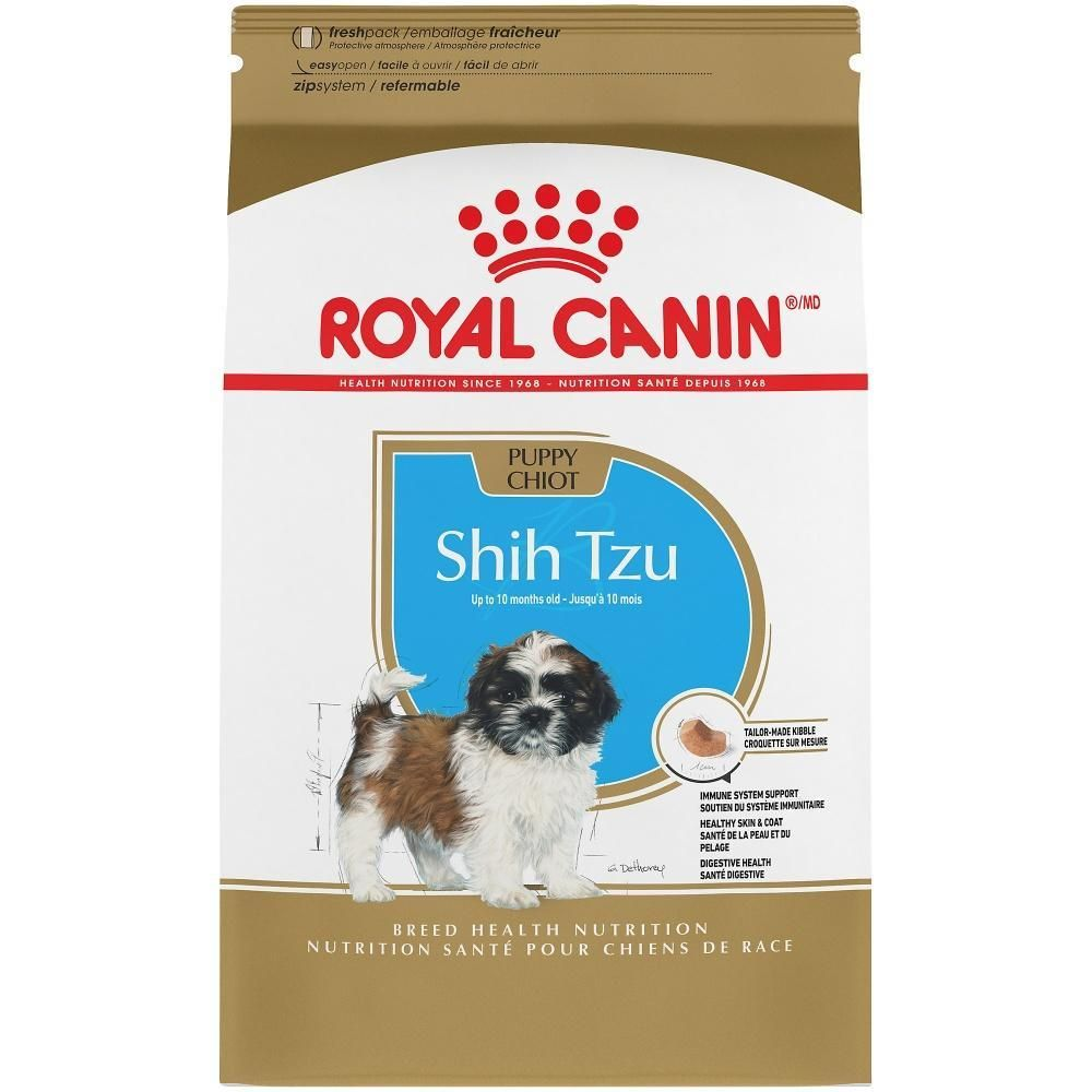Royal Canin Shih Tzu Puppy Dry Dog Food Shih Tzu Puppy Shih Tzu