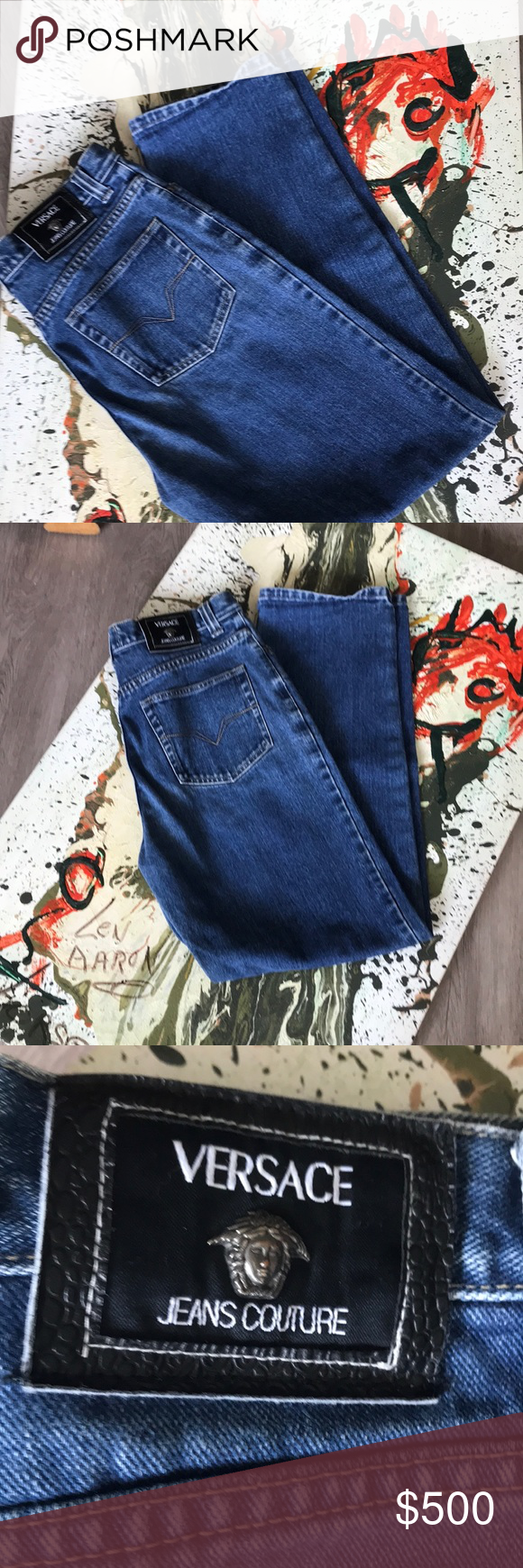 Spotted while shopping on Poshmark  VERSACE authentic jeans from Neiman  Marcus 32 46.!  poshmark  fashion  shopping  style  Versace Jeans Couture   Other ce41e4d93d