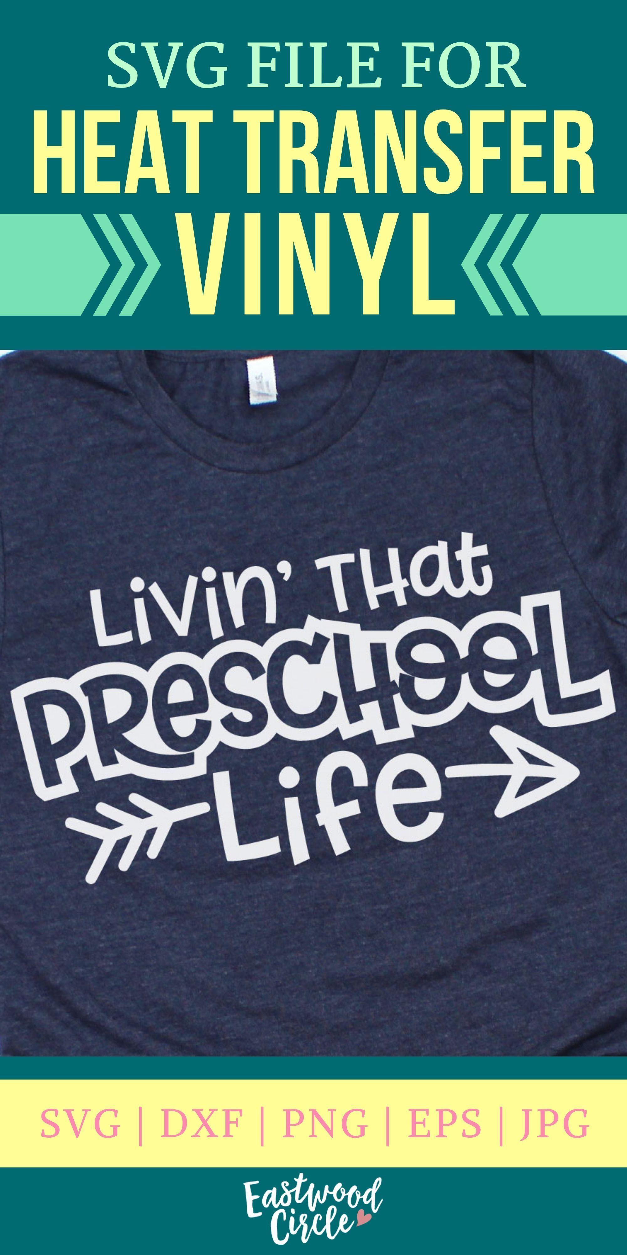 Livin That Preschool Life svg Preschool svg School svg
