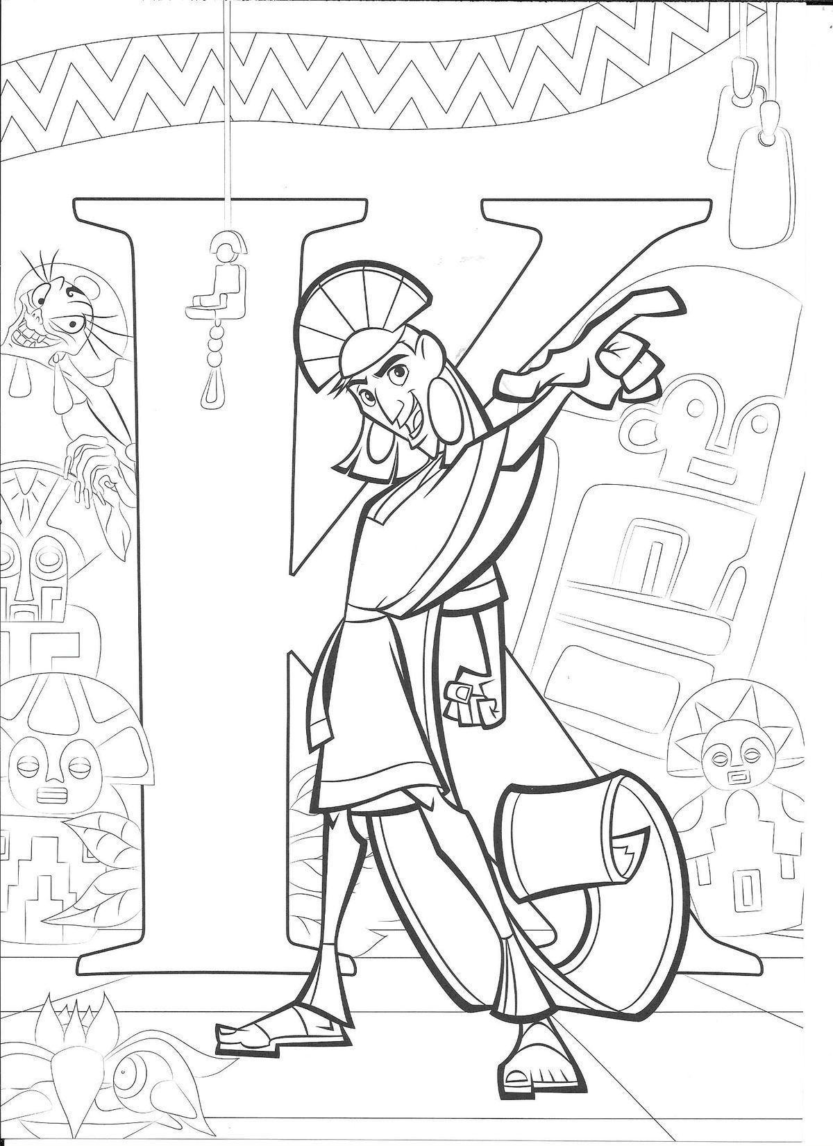 Pin By Mj Guerrero On Alphabet Coloring Sheets Disney Abc