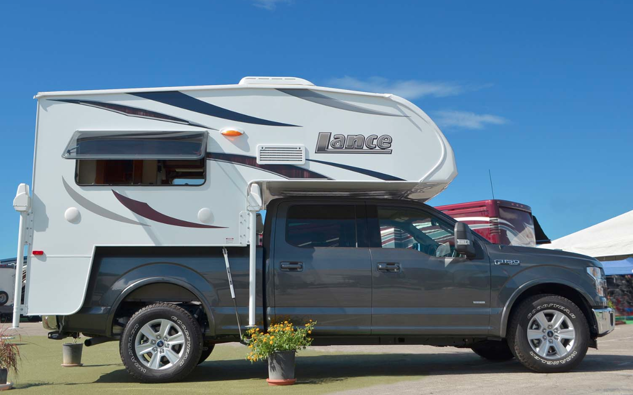 The Lance 650 truck camper is ready to hit the road, are
