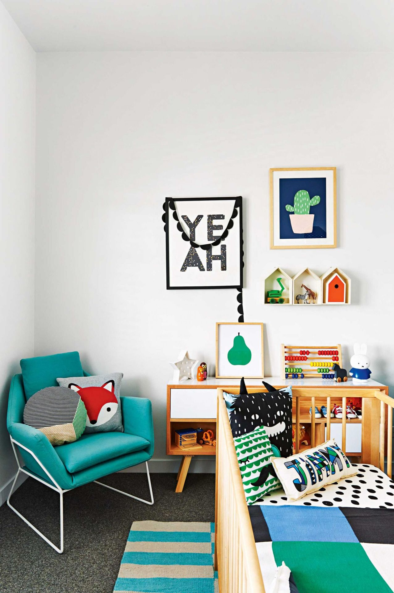 Colour Schemes For Boys Bedrooms