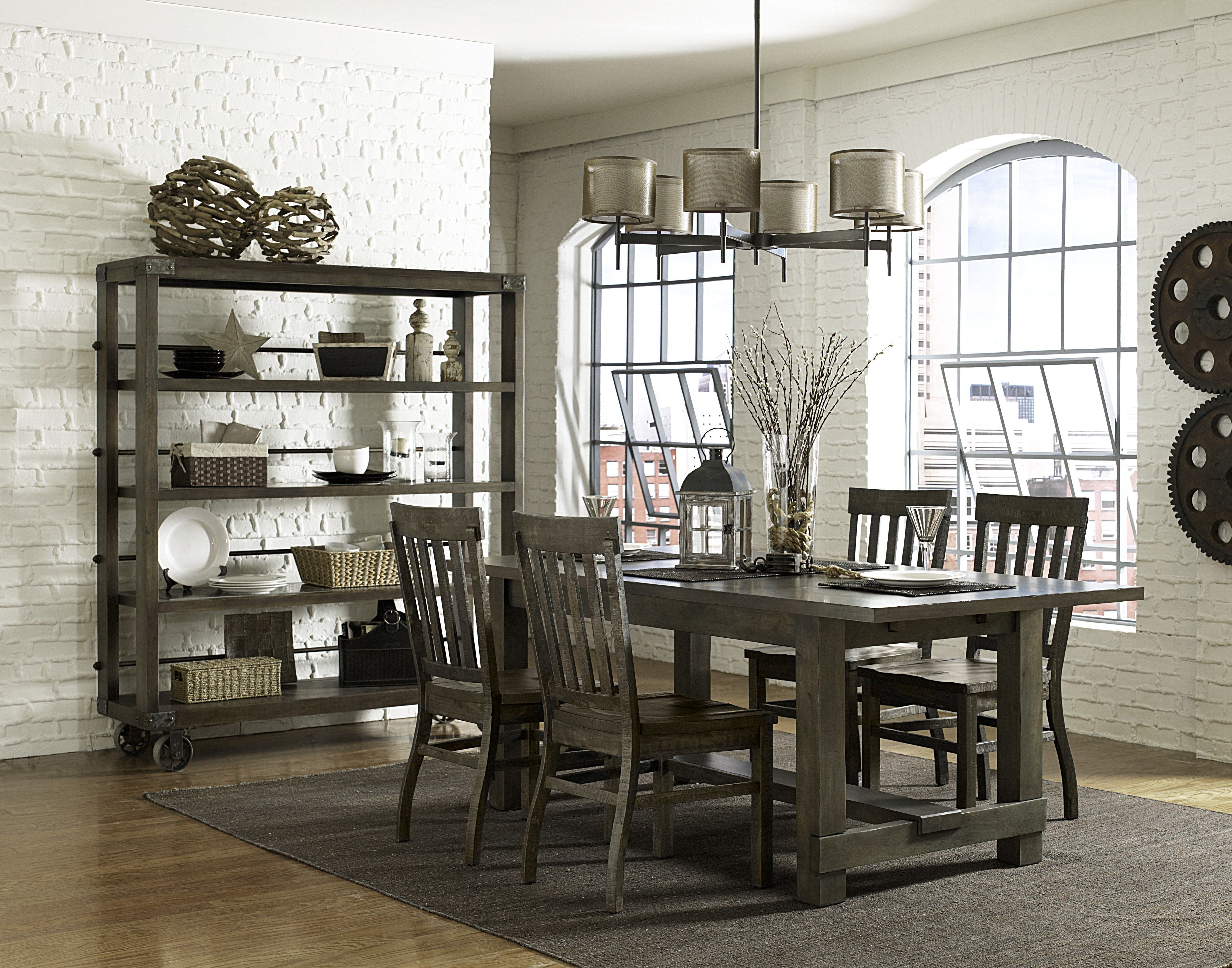 rustic dry grey dining room for the home pinterest room