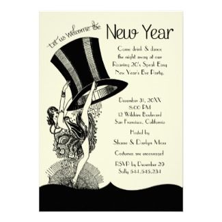 Stunning Roaring 20's party invites, fully customisable! Check out the other party items