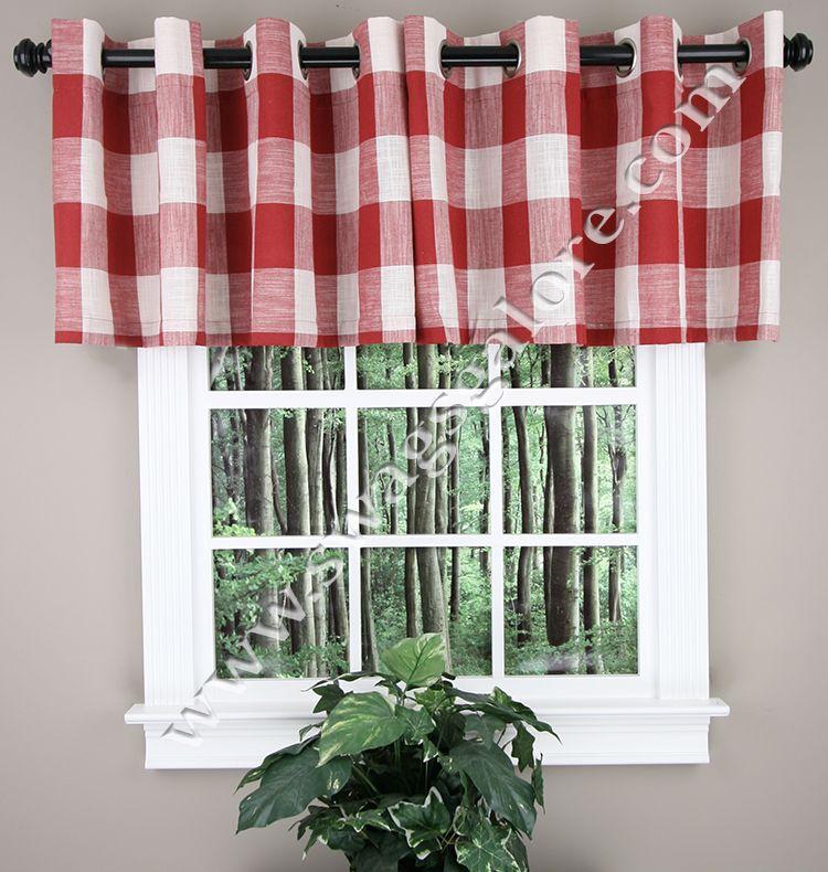 window kitchen regarding red walmart yellow photograph best valance of leah grey