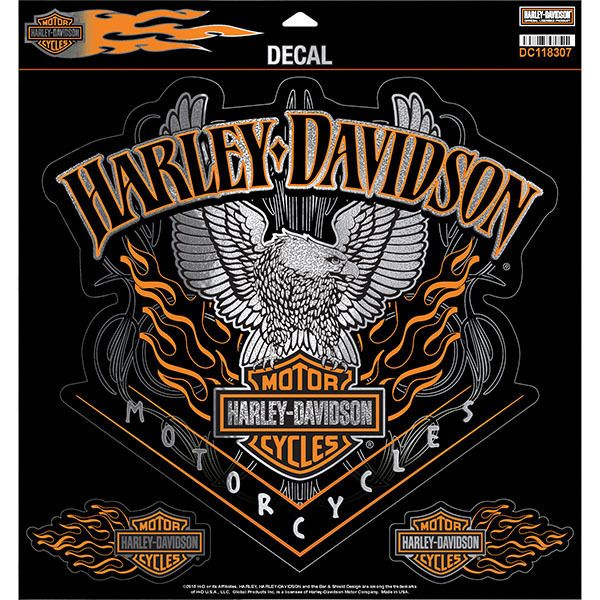 Harley Davidson Aufkleber Decal Eagle Pinstripes Gross Dc118307