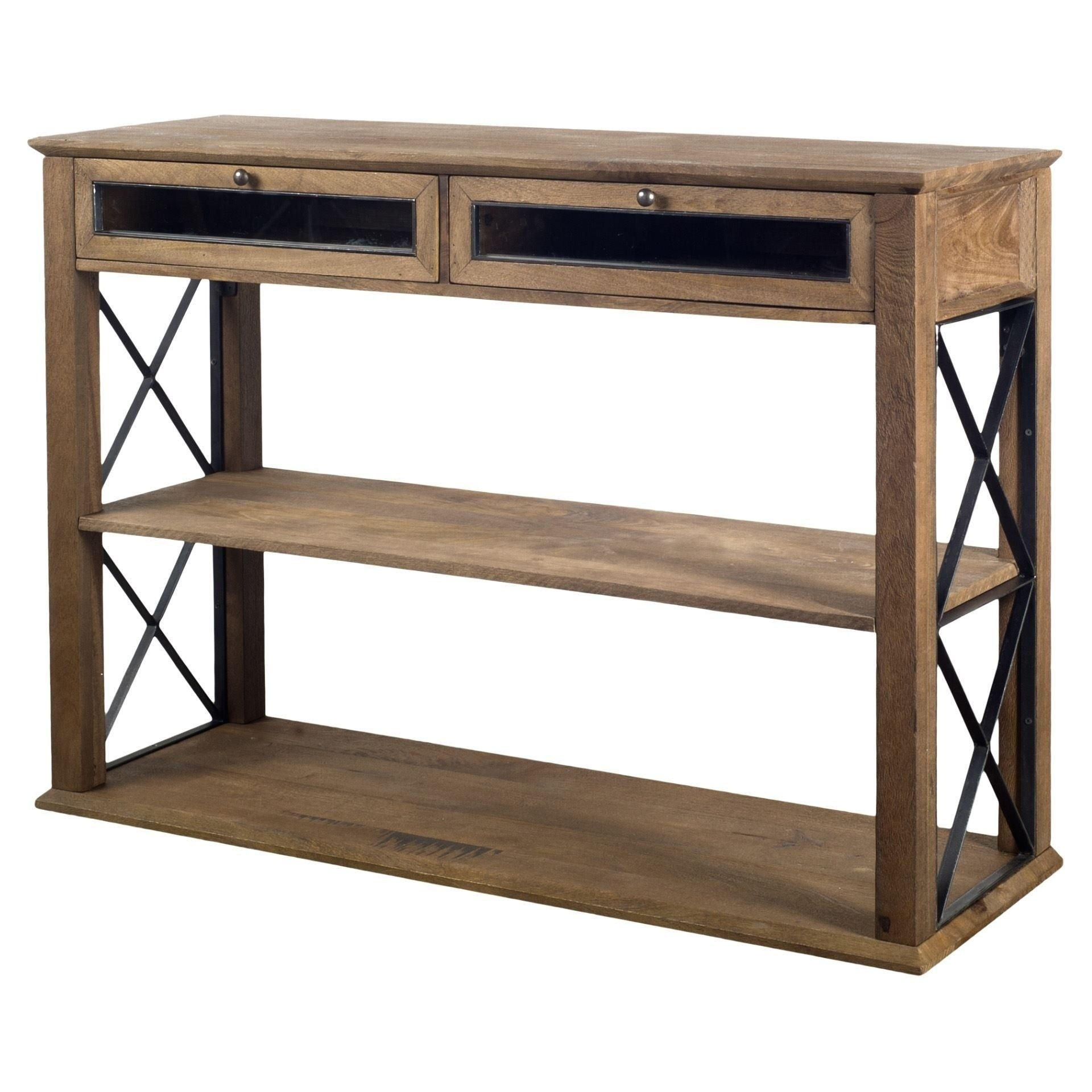 Today, it's a company with hundreds of employees and multiple stores across florida. Mercana Eldorado V Console Table, Brown | Rustic furniture