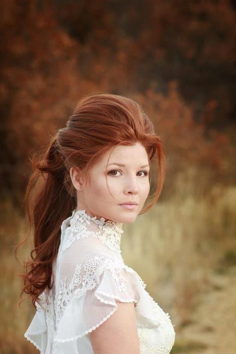 victorian hair - gorgeous girl